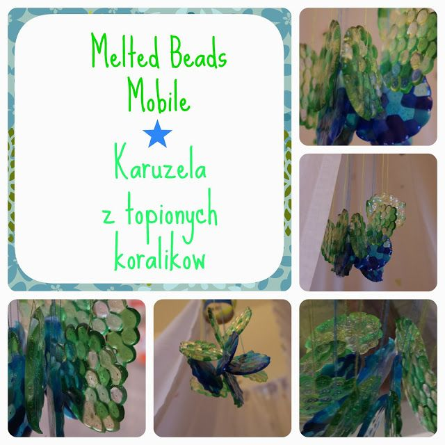 My Little Madness: DIY - Melted Beads Mobile