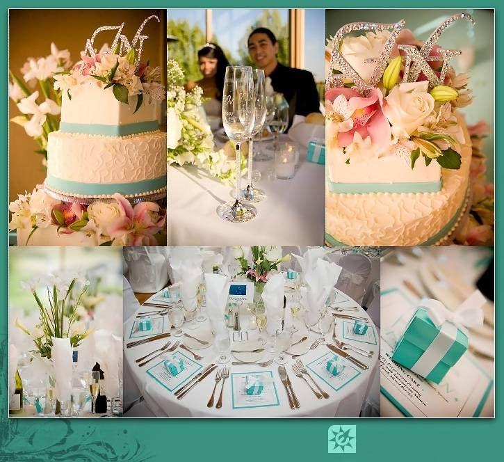African Reception Hall Decoration Ideas | ... tiffany box tiffany blue box cardboxtiffany Blue Wedding Decoration