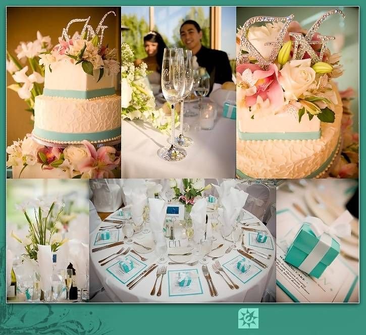 African Reception Hall Decoration Ideas | ... tiffany box tiffany blue box cardboxtiffany Blue Wedding Decoration
