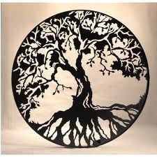 Tree of Life tattoo art.