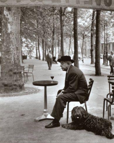 Jacques Prevert Paris, 1955  Robert Doisneau