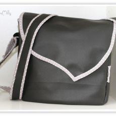 Tuto Couture : petit sac rabat en bandoulière