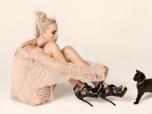 'Winter heats up'    Hannah Glasby photographed by Craig Owenfor Fashion QuarterlyMagazine[Winter 2009]