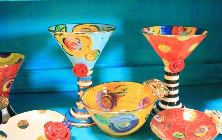 Fabulous Mary Rose Young ceramics