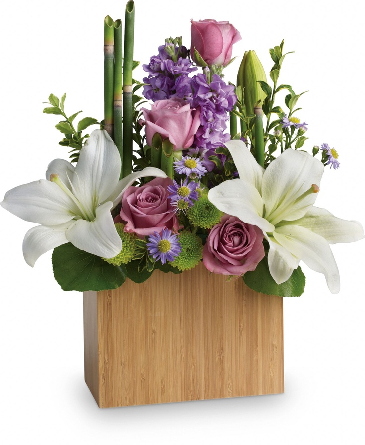 Teleflora is one that doesn't send them in a box, and I know for sure that some of FTD's flowers do come in a box, but they are labeled under the picture.