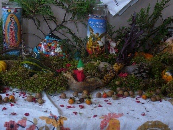 Seasonal nature table