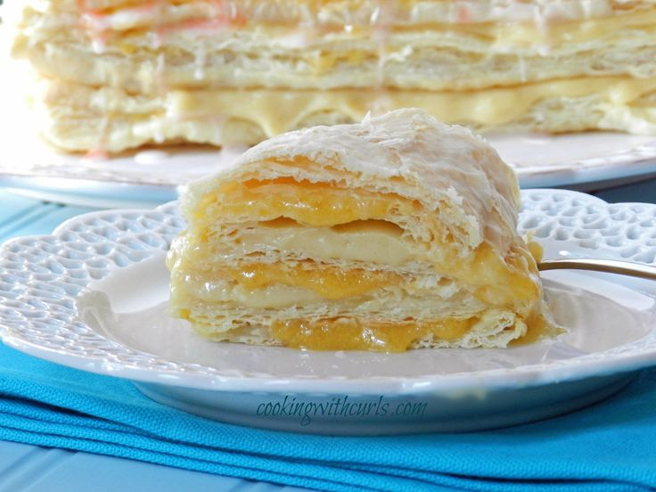 Peaches and Cream Napoleons & dessert challenge - Cooking With Curls