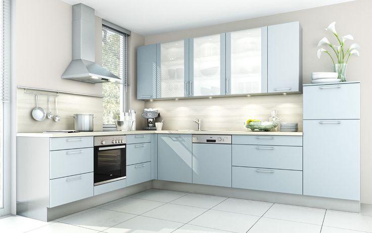 Eckküche #Winkelküche #Küche wwwkueche-code My Home Pinterest - komplett küchen mit elektrogeräten