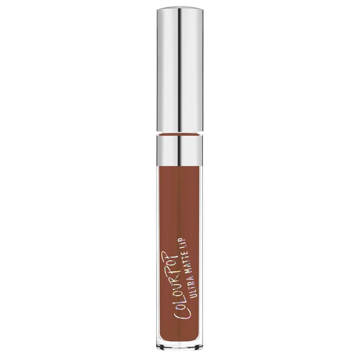 ColourPop Ultra Matte Lip in Limbo >> You'll be bending over backwards for this deep chocolate brown