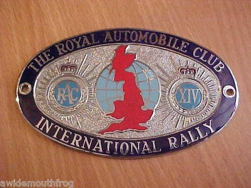 Royal Automobile Club 14th International Rally