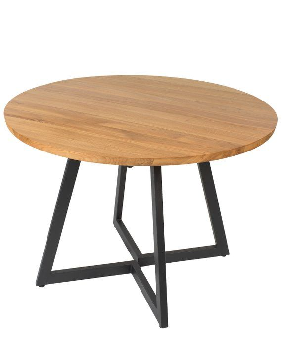 Free Eu Shipping Extendable Round Table Modern Design Steel Etsy Steel Dining Table Oval Table Dining Table
