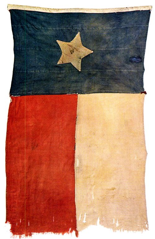 """""""Honor the Texas flag; I pledge allegiance to thee, Texas, one state under God, one and indivisible."""""""