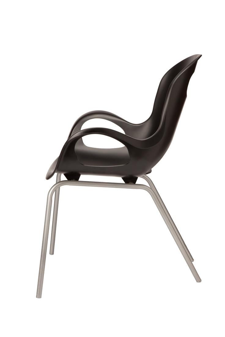 Oh Chair   The Iconic OH Chair U0027upgradesu0027 The Look And Feel Of Industrial.  Plastic ChairsKitchen ChairsKarim RashidDesign ...