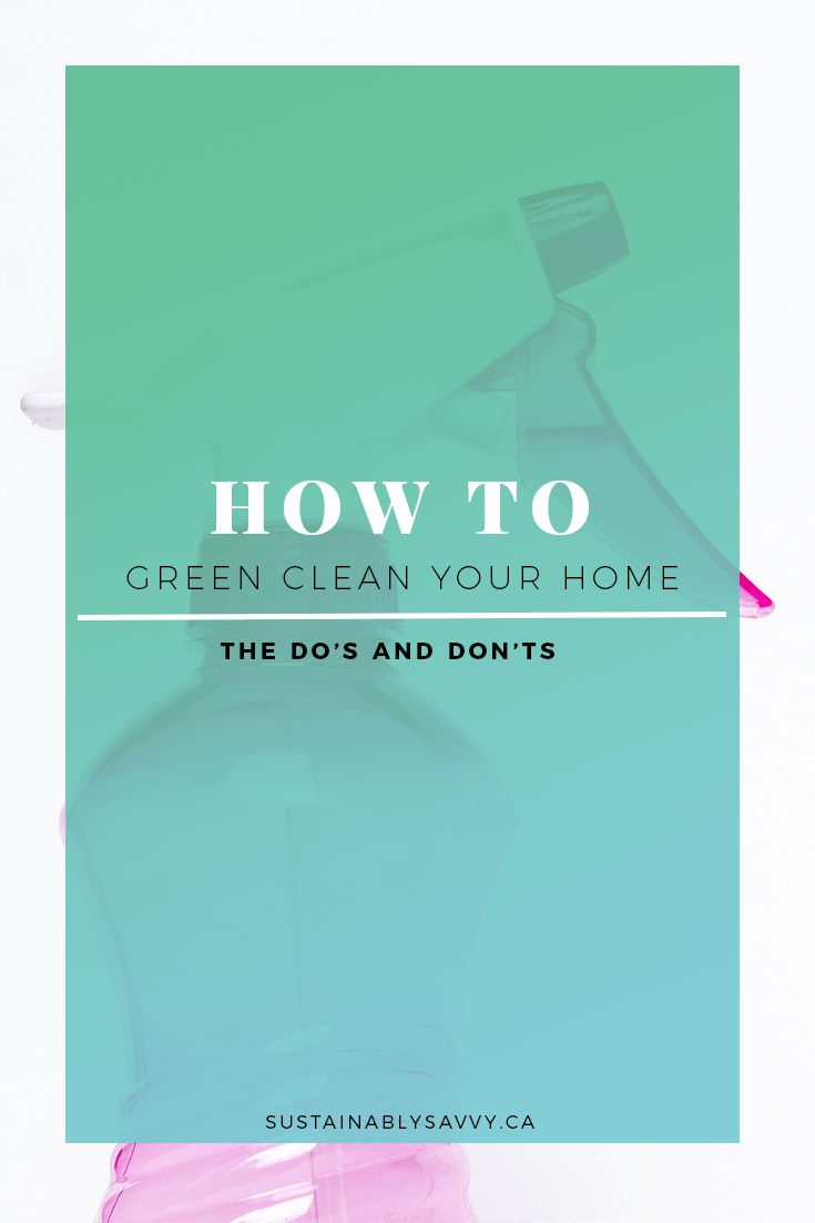 GREEN CLEAN | NATURAL CLEANING | DIY CLEANING
