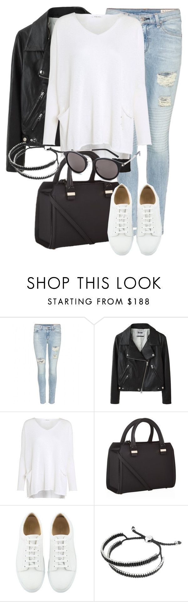"""Untitled #1929"" by annielizjung ❤ liked on Polyvore featuring rag & bone, Acne Studios, Crea Concept, Victoria Beckham, Links of London and Yves Saint Laurent"