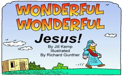 'samenvatting' leven van Jezus (zwart-wit)