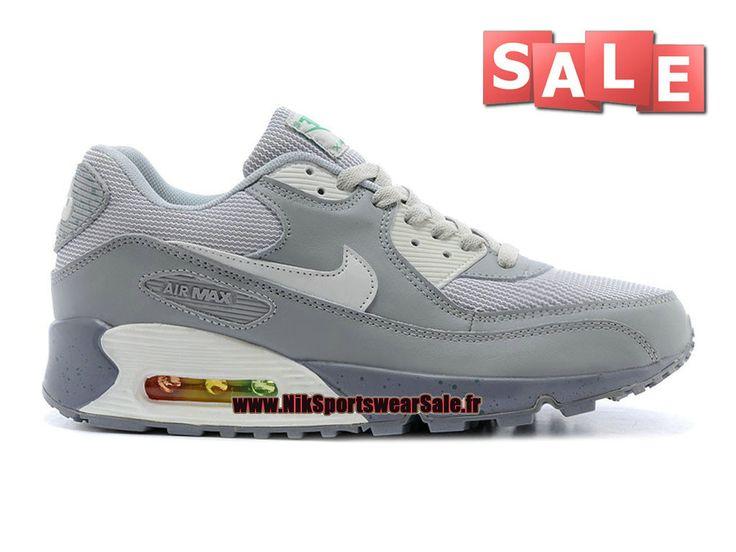 Nike Air Max 90 Premium Leather - Chaussure Nike Sportswear Sale Pour Homme…