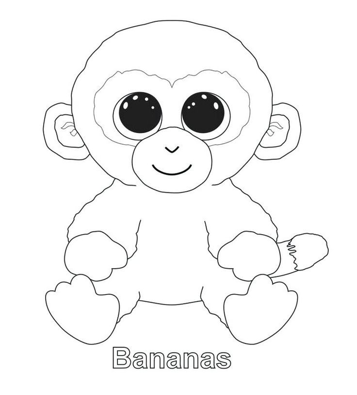 Beanie Boo Coloring Pages For Your Kids | Unicorn coloring ...