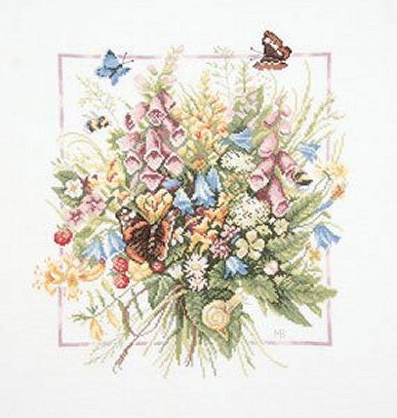 Lanarte Marjolein Bastin Cross Stitch Collection by DebiCreations, $78.75