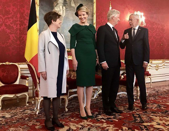 King Philippe S And Queen Mathilde S Visit To Vienna Austria