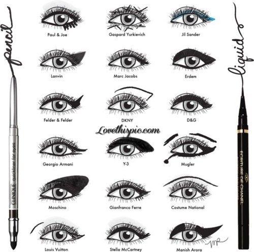 DIY eyeliner fashion eyes beautiful makeup art girls beauty diy eyelashes eyeliner make-up