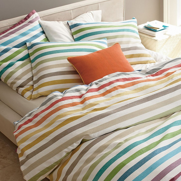 I'm an all-white girl when it comes to bedding, but if I wasn't, I would buy this