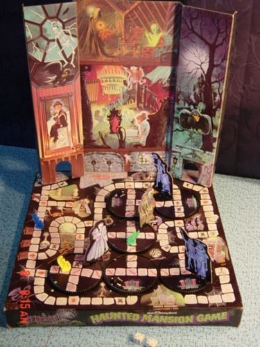 Haunted Mansion Game at BoardGameGeek. I'd love to track one of these down.