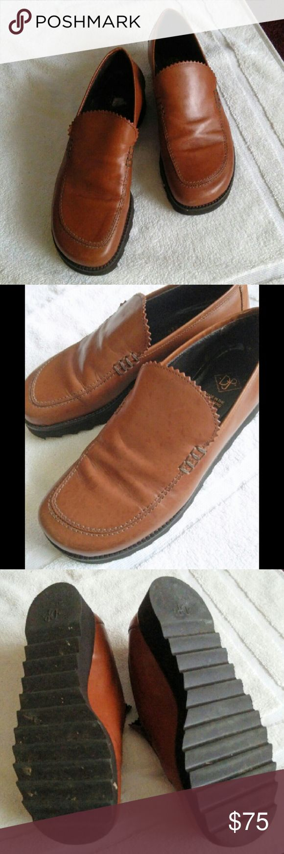 Donald J Pliner Tan Loafers Very comfortable. Neutral easy to coordin Shoes Flats & Loafers