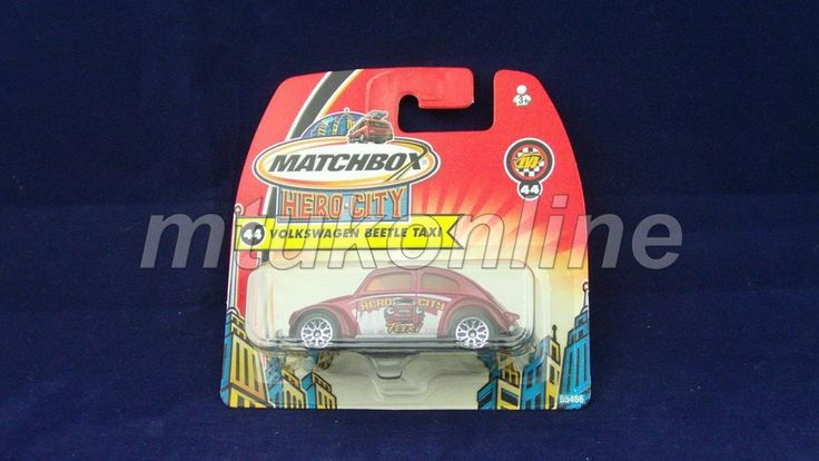 MATCHBOX 2003 VOLKSWAGEN BEETLE TAXI | 1/58 | CHINA | HERO CITY 44 | B5466