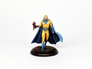 Painting tutorial for Sentry, Knight Models