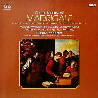 Music is the Best: Monteverdi – Madrigals – Leonhardt