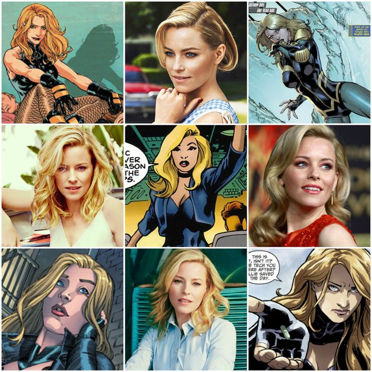 elizabeth banks as black canary dinah lance dc fancast