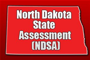 North Dakota State Assessment (NDSA) The North Dakota State Assessment (NDSA) is a set of criterion-referenced tests taken in the fall by students throughout the state. The NDSA includes tests in math, reading, language, and science. The tests are administered to students in grades three through eight, as well as in grade eleven, although the science exam is only administered in four, eight, and eleven. http://mometrix.com/blog/north-dakota-state-assessment-ndsa/