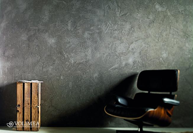 Wandveredelung mit Marmor-Kalk-Putz (Referenzfoto Volimea)