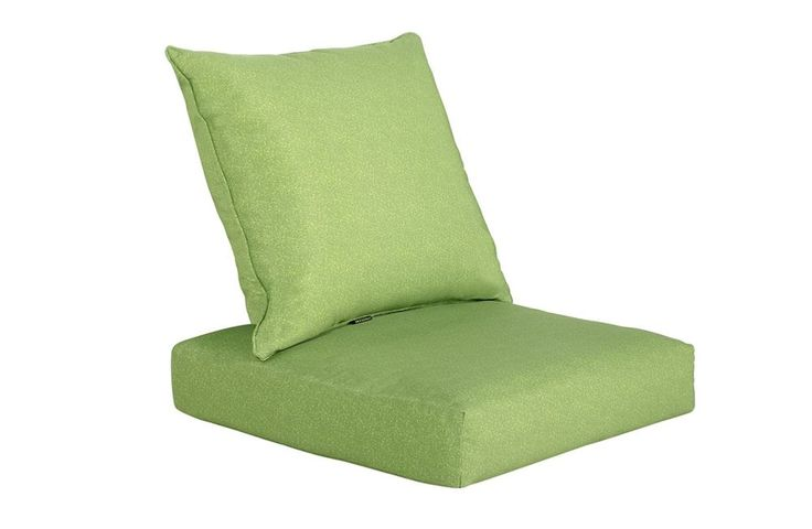 GREEN Seat Back Pad Chair Filled Cushion Pillow Set| Lounge Sofa Indoor Outdoor   | eBay. Seat Pad: 61W x 61D x 16H cm Pillow:     61W x 56D x 18H cm 3.62 kg ( 1 set )