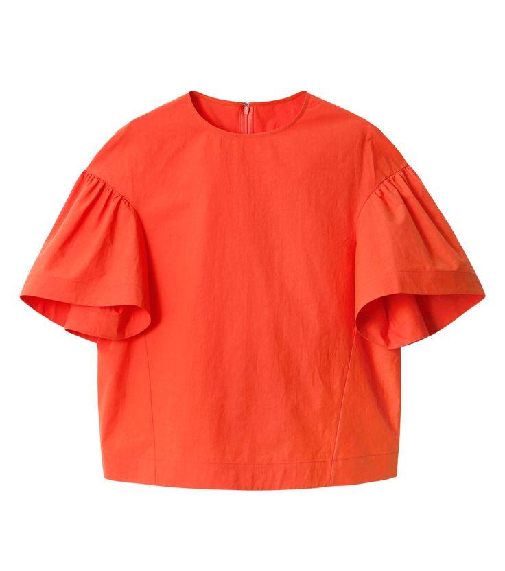ルシェルブルー/LE CIEL BLEU - ボリュームスリーブトップス-ORANGE(シャツ/shirt) | RESTIR リステア