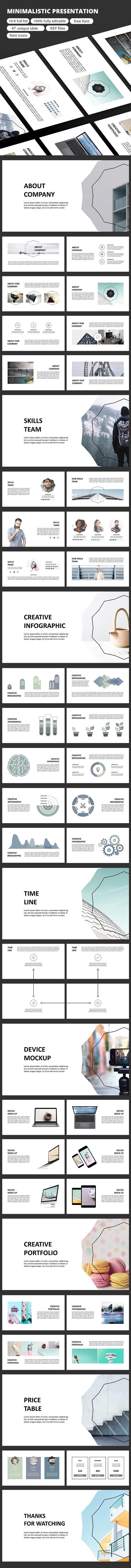 Minimalistic - Keynote Presentation Template