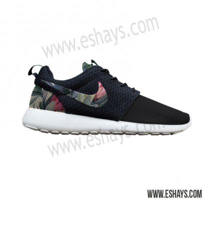 Custom Roshes- Floral Tropical Nike Roshe Runs | Eshays, LLC