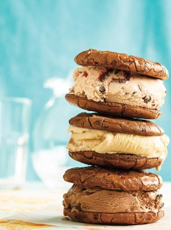 Ricardo's recipe : Chocolate Brownie Cookies