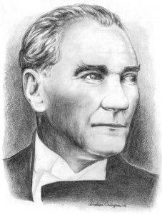 Atatürk-karakalem