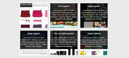 Nice image captions with CSS - would be nice concept for work website