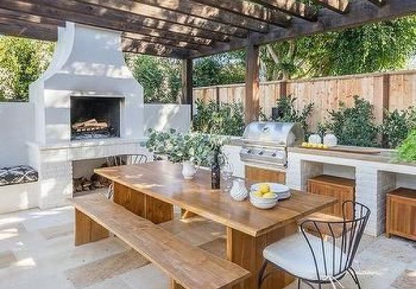 Outdoor Kitchen Designs To Get Things Cooking In Your Backyard Outdoor Kitchen Decor Outdoor Kitchen Patio Outdoor Kitchen Design