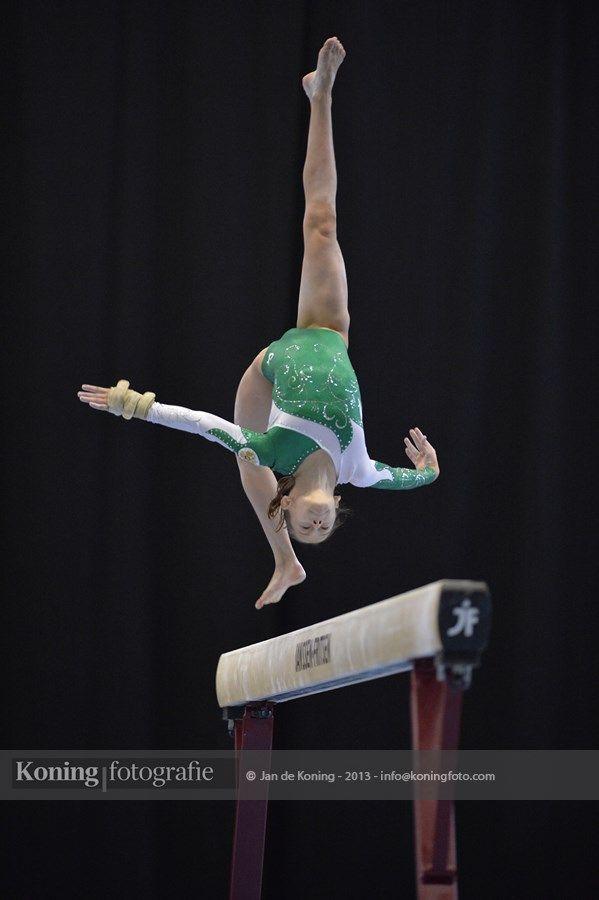 Jeugd Olympische Spelen Utrecht 2013 Turnen Finaledag Toestelfinales Vrouwen Deel 4   Jan de Koning Fotografie