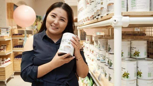 WHEN Molder Sayrao first came to Australia to study at Macquarie University in 2014, her family members soon began asking her to send products home to western China.