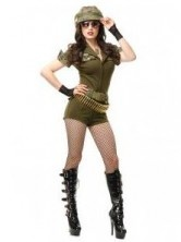 Sgt. Stunning Adult Costume