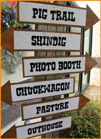 Fall Harvest Party Ideas | Country Hoedown