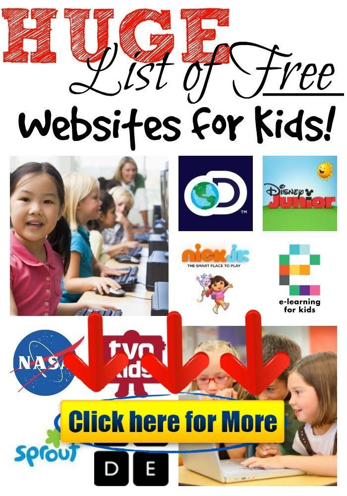 Free Education Websites for Kids 👈 #kids #kid #education #app Free
