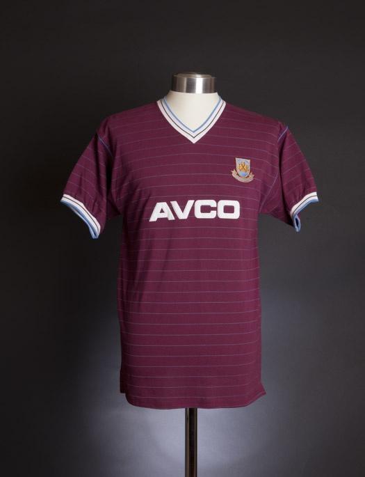 West Ham United 1986 shirt