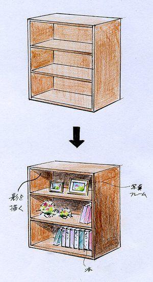 家具の描き方(手描きインテリアパースの描き方) l 手描きパースの描き方ブログ、パース講座(手書きパース)