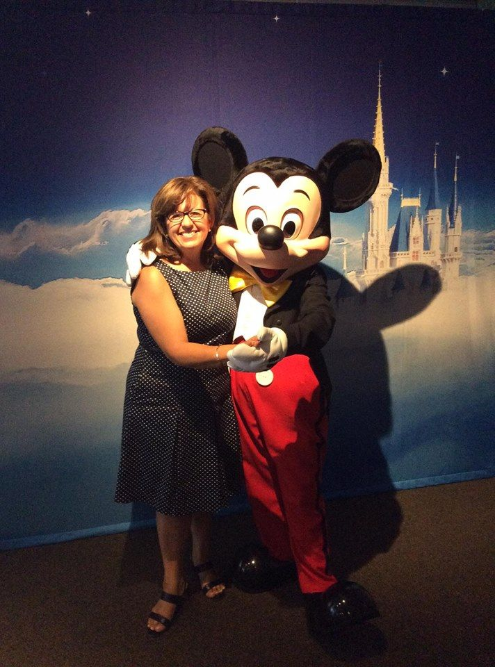 """With my pal Mickey Mouse at Disney Social Media Moms Celebration """"On-the-Road"""" Toronto"""